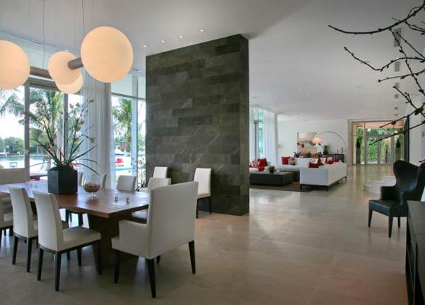 villa okto10 Wonderful Otko Villa on a Private Island in Miami Beach, Florida for Sale