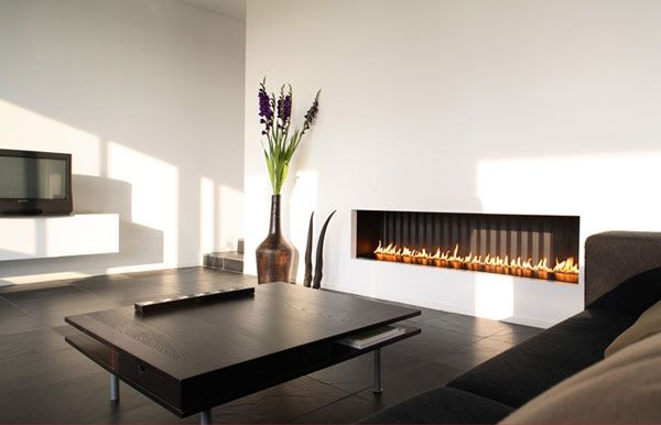 modern fireplace8 Modern Gas Fireplaces Ideas from Attika Feuer
