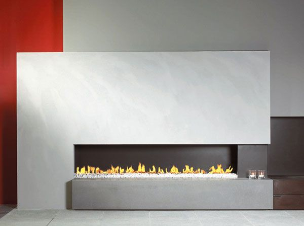 modern fireplace9 Modern Gas Fireplaces Ideas from Attika Feuer