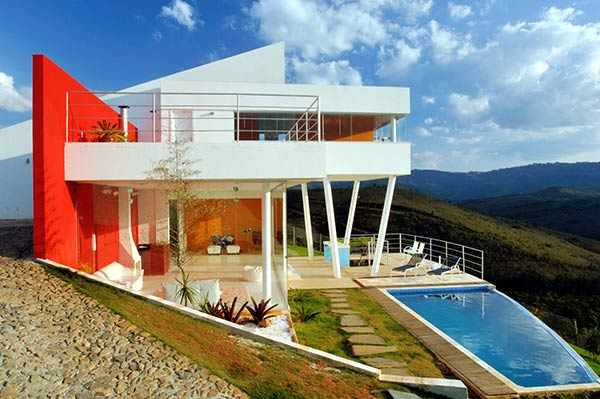 morato contemporary mountain home 1 Modern Mountain Home Design by Ulisses Morato