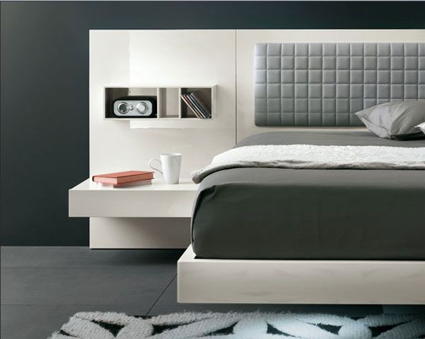 suspended bed Modern Suspended Bed : Aladino up by Alf Group