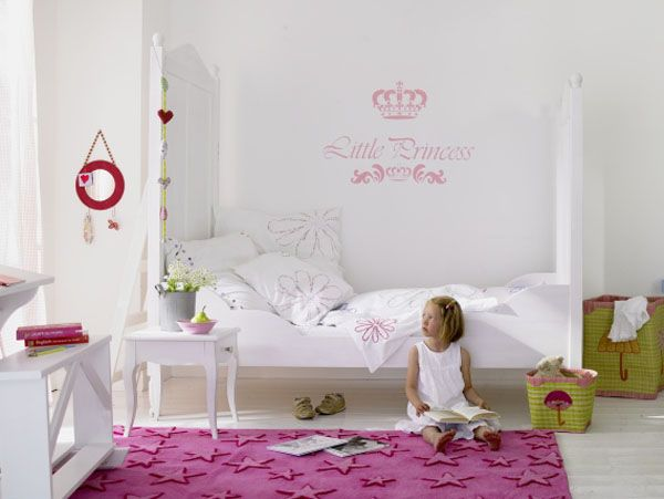 white color interior design Decorating White Spaces by Adding a Delicate Touch of Color