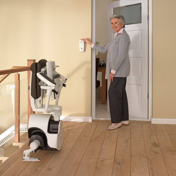 Lift03 Slide Up the Stairs in Style with the Curved Stair Lift