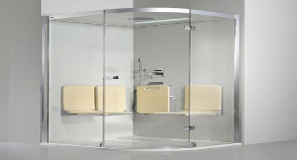 artweger modern steam shower unit 3 Body & Soul Steam Shower With Color Light Moods And An Audio System