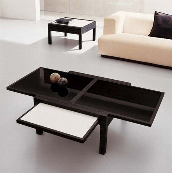 Cool expandable coffee and dining tables by Sculrtures jeux 81 Interesting Expansible Coffee Tables