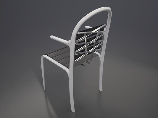 Pion Back The Pion Chair by Aleksandr Shnayder