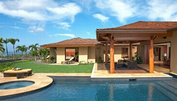 hualalai luxury home design pool 554x317 Luxury Home in Hualalai