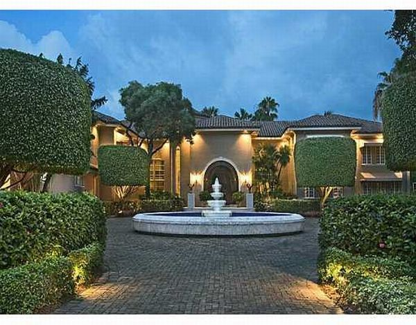 shaqs star island estate Shaquille ONeals House in Miami