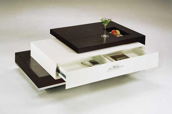 Trio Coffee Table0 Trio Contemporary Coffee Table by Rick Lee