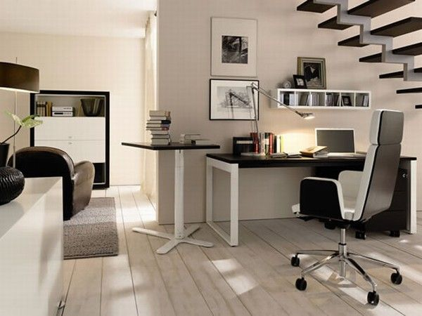 huelsta modern wood home offices 3 Home Offices Ideas from Huelsta