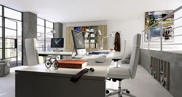 huelsta modern wood home offices 6 Home Offices Ideas from Huelsta
