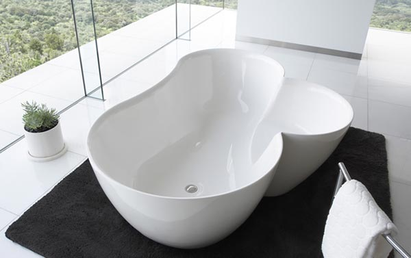 unique bathtubs Utuwa Bathtub by Spiritual Mode