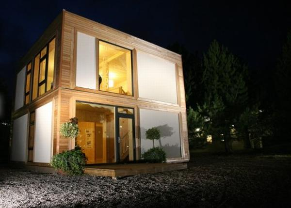 prefab homes 123456 Prefabricated Panels from ModCell, an Alternative Building System