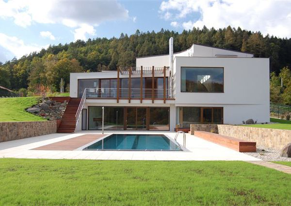 three level house plans luxury valley home 12 Beautiful Countreyside Home in The Czech Republic