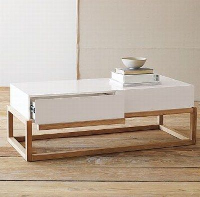 top drawer coffee table Top 20 Unique Contemporary Coffee Tables