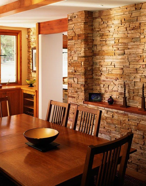 stone interiors How Do You Feel About Indoor Stone Walls ?