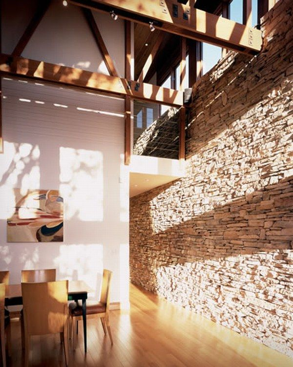 stone interiors23 How Do You Feel About Indoor Stone Walls ?