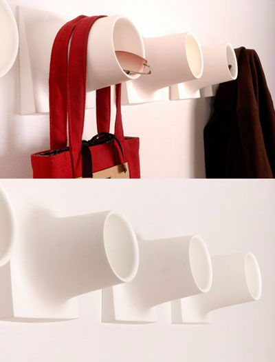 cubby 25 of the Most Creative Wall Hook Designs