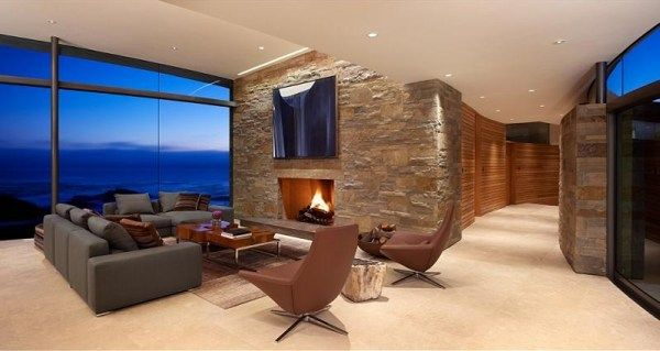 exclusive oceanfront view property in california Spectacular House by the Ocean from Sagan Piechota Architecture