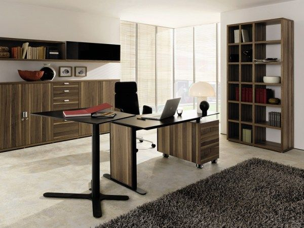homeoffice desk a by huelsta 21 12 Modern Home Office Ideas : Cozy Enough?