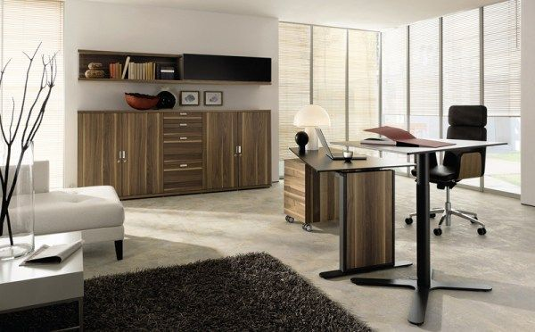 homeoffice desk a by huelsta 41 12 Modern Home Office Ideas : Cozy Enough?
