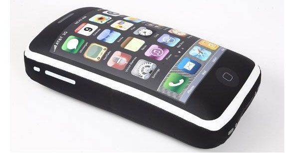 iphone 4gs pillow2 iCushion : Iphone 3GS Shaped Pillow