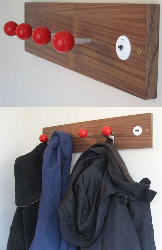 joystick coat hanger 25 of the Most Creative Wall Hook Designs