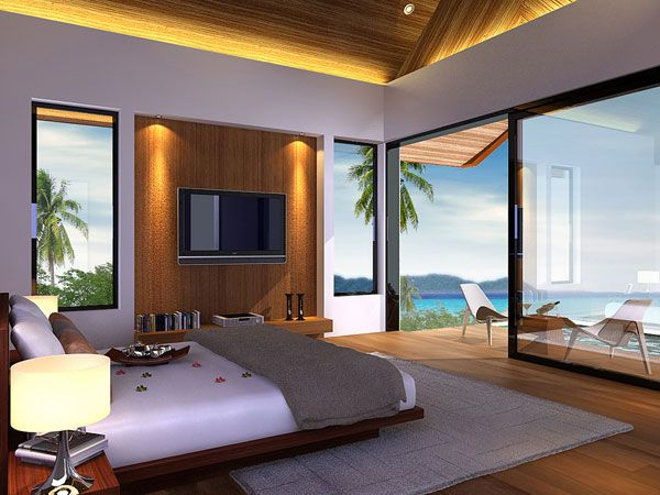 resort bedrood ocean view 23 Amazing Bedrooms with a Panoramic View of the Ocean