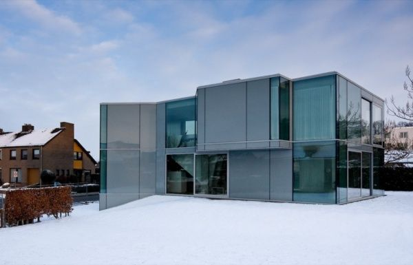 H house2 H House, a Hypnotizing Glass Residence in The Netherlands