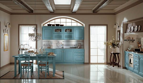 ala cucine blue kitchen closet1 copy 25 Inspiring and Delightful Traditional Kitchen Designs