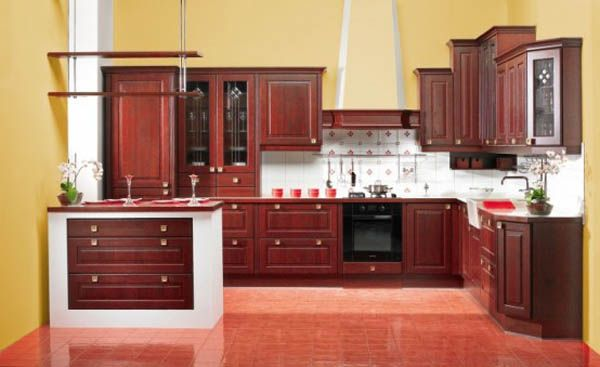 arkada rustic oak 554x3391 25 Inspiring and Delightful Traditional Kitchen Designs