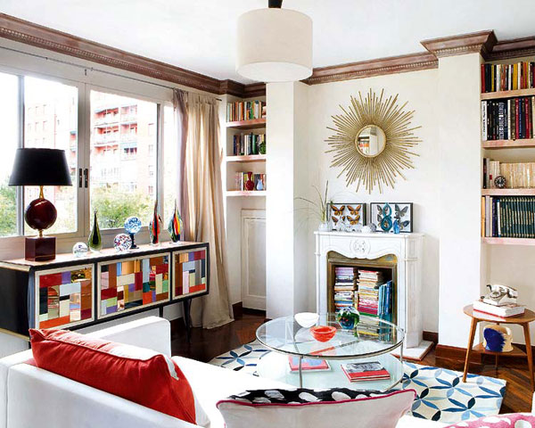 Exciting Home Full of Energy and Color