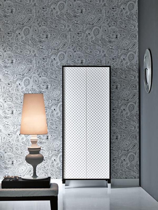 COCO Falper 3 Gorgeous Textured Bathroom Furniture in Black and White from Falper