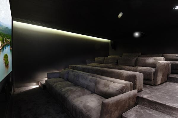 beautifu home architecture building acero archiects home cinema Amazing House That Offers the Maximum Life Quality by A cero