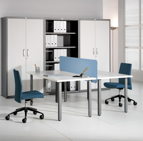 plus 09 8 Elegant and Practical Group Work Desks for Up to date Offices