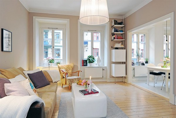 apartment room Get Cozy and Inspired: 10 Most Beautiful Swedish Apartaments of 2010