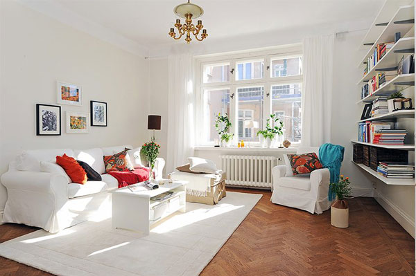 apartment1 Get Cozy and Inspired: 10 Most Beautiful Swedish Apartaments of 2010
