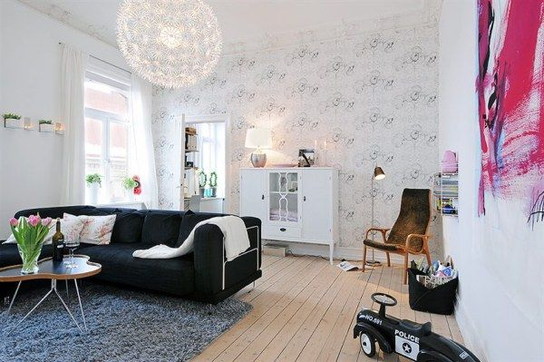 image 0132 Get Cozy and Inspired: 10 Most Beautiful Swedish Apartaments of 2010