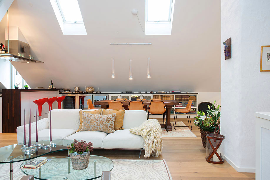The 2 5 Million Tastefully Decorated Swedish Loft Exuding