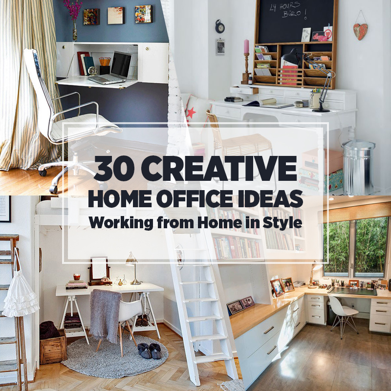 30 Home Office Ideas Work From Home In Style Freshome Com