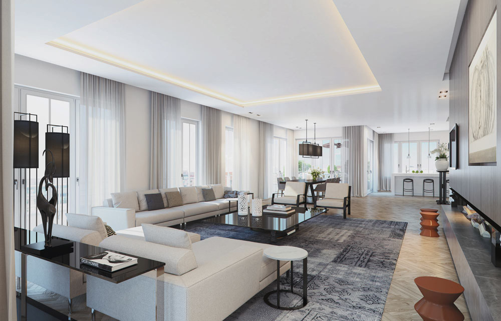 Visualizing A Sophisticated Penthouse Design In Stunning