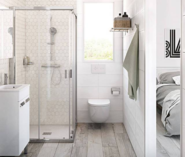 Add A Seamless Glshower Door To Your Small Bathroom