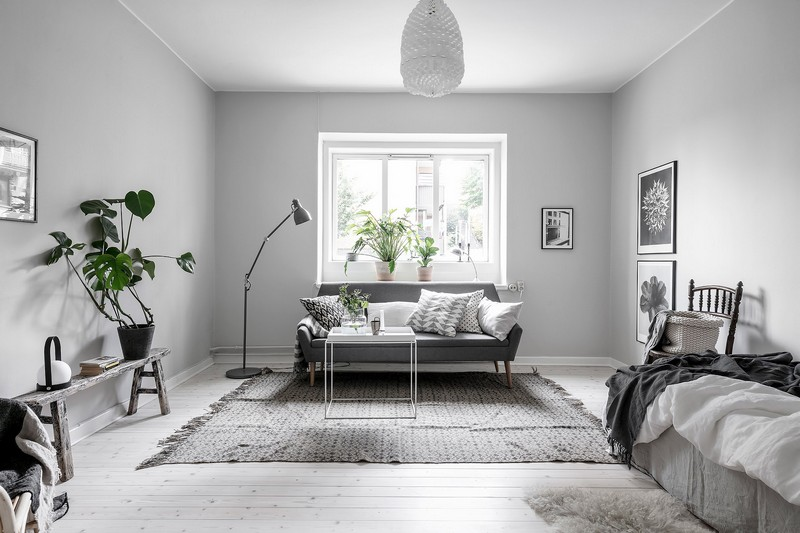 Incredibly Well-Planned One-Room Apartment In Stockholm