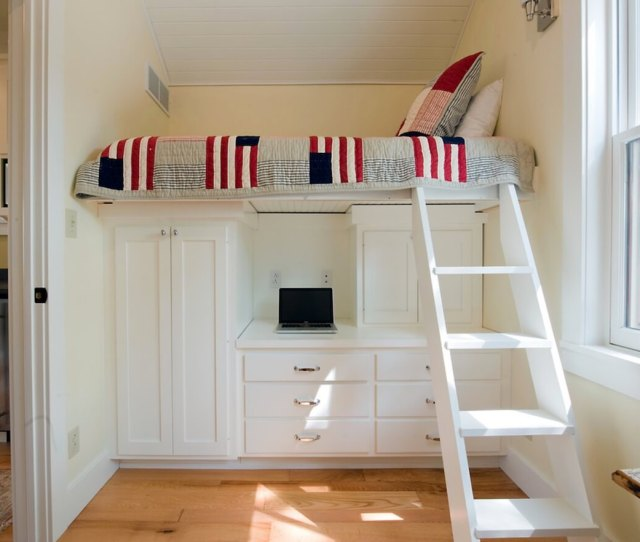 Small Space Beds Loft Storage