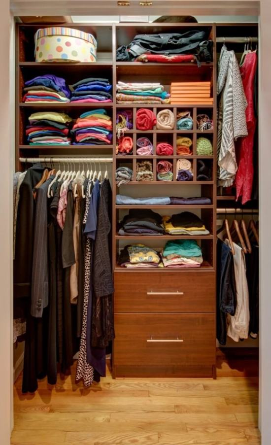 Clothing Organization Cubby System