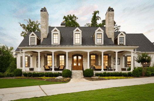 New traditional home