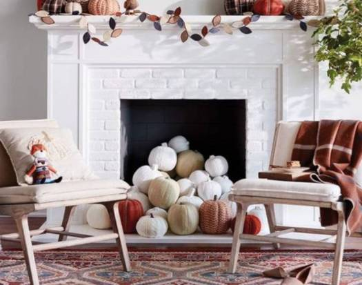 non working fireplace decorating ideas