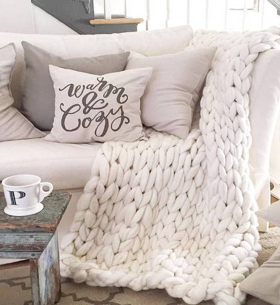 how to make a home warmer and cozier
