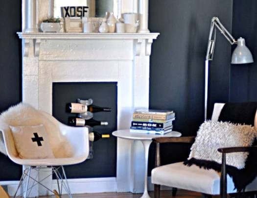 non working fireplace ideas