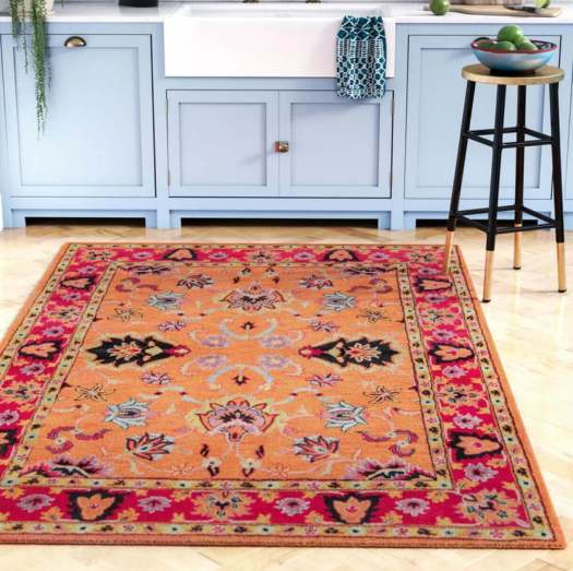 Living Coral Area Rug